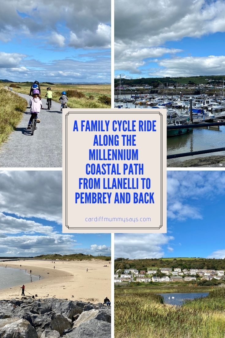 Millennium Coastal Path family bike cycle ride