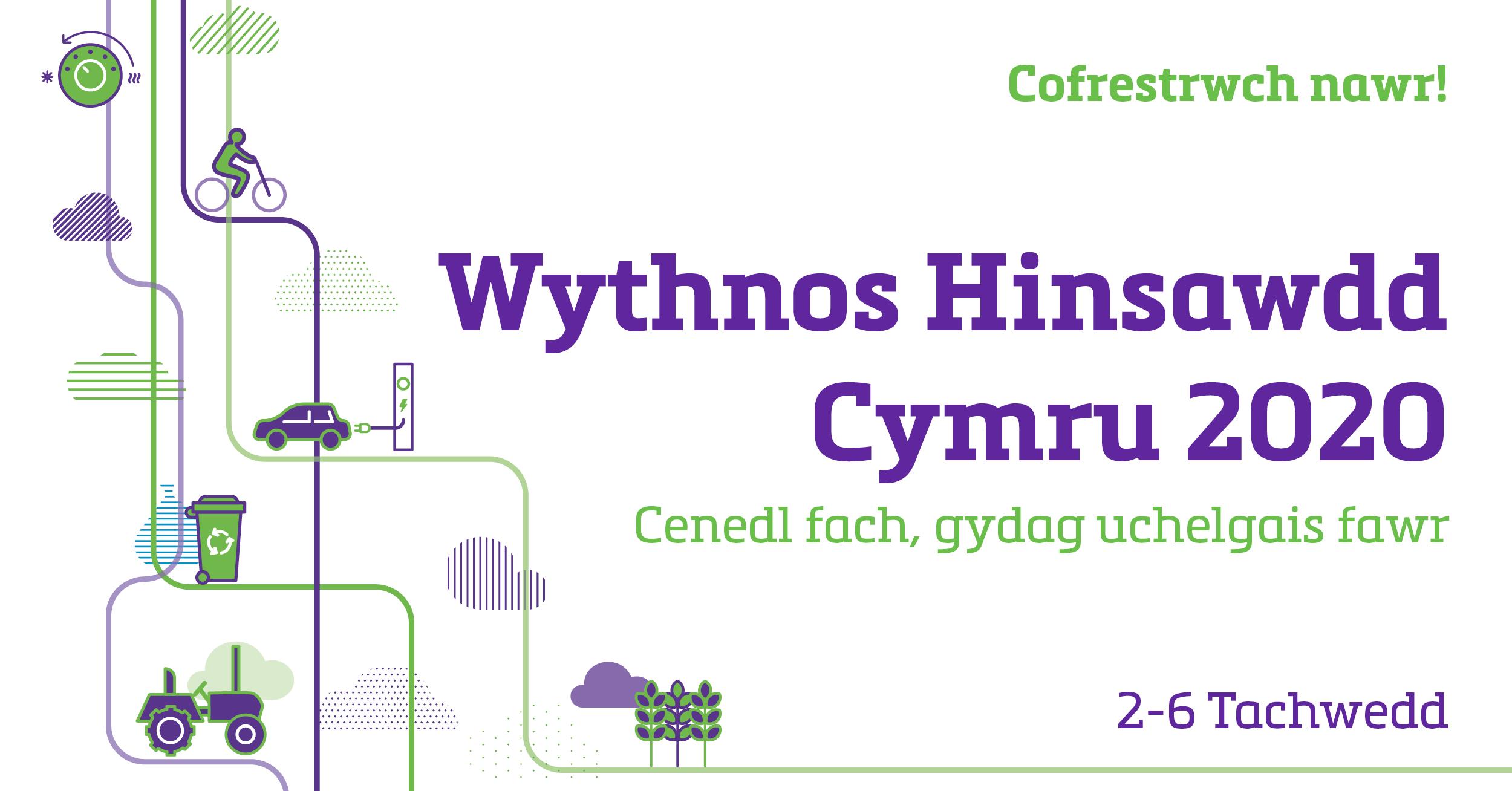 Wales Climate Week - Wythnos Hinsawdd Cymru