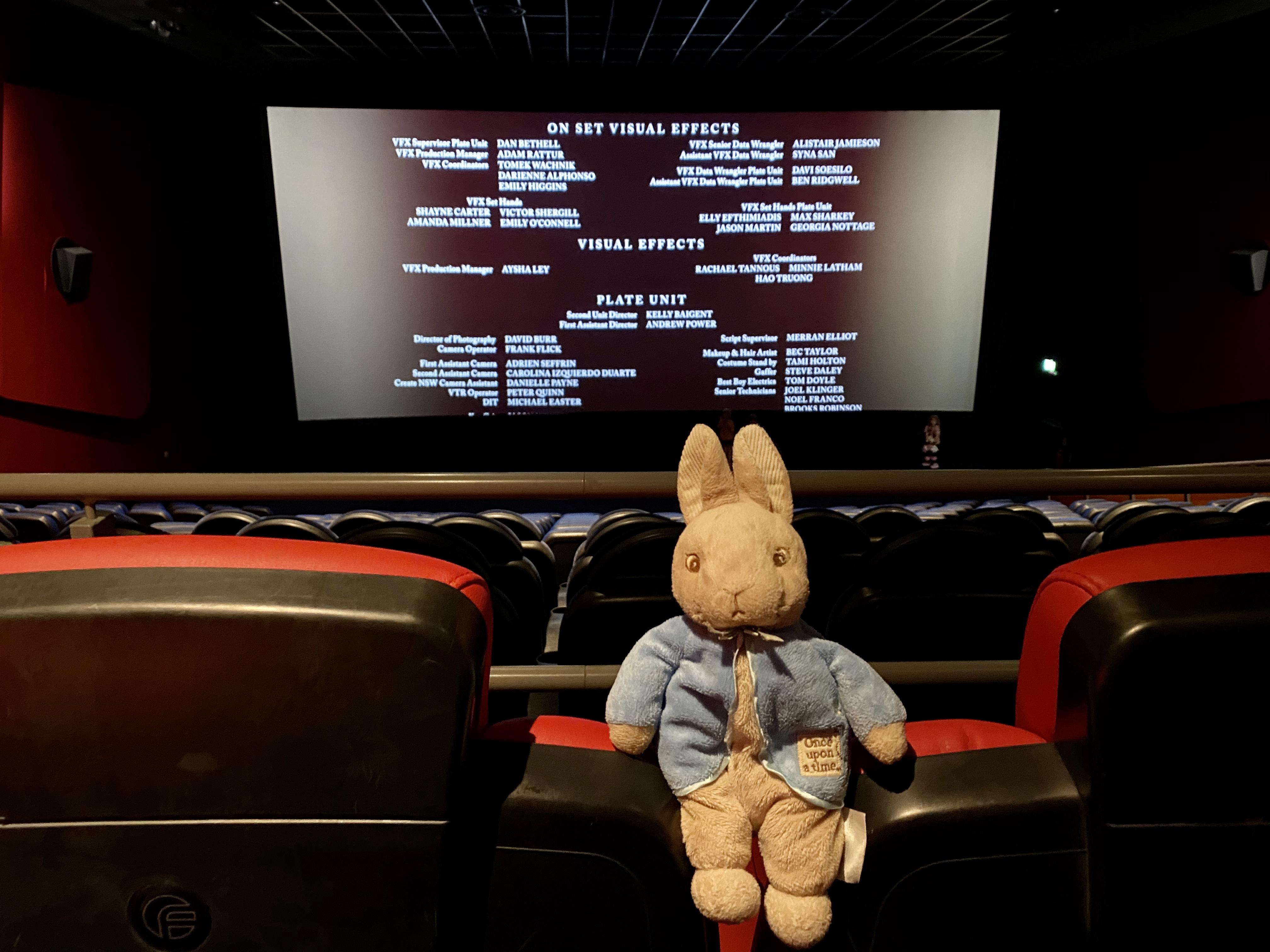 Peter Rabbit 2 Odeon Cardiff
